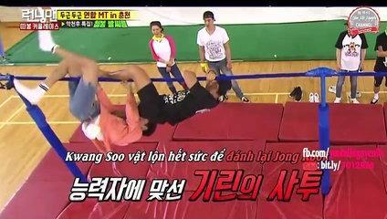 《FUNNY》 Running Man EP 307    19+ KIM JONG KOOK BỊ LEE KWANG SOO LÀM CHUYỆN - ẤY -