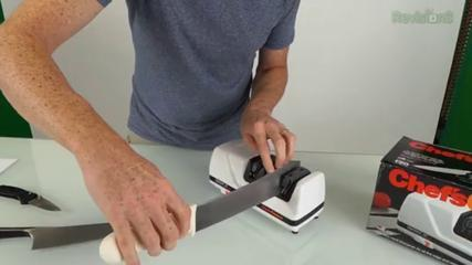 Edge Select Pro M120 Electric Knife Sharpener Review And Tutorial - GeekBeat Tips & Reviews