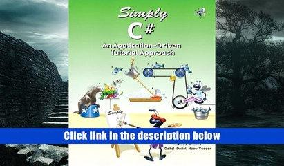 Ebook Simply C#: An Application-Driven Tutorial Approach Harvey M. Deitel EBOOK Reader