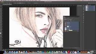 Tutorial Photoshop CS6 En Español: Fotografía A Dibujo