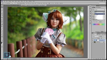 Spring Pastel Color Effect - Photoshop Tutorial