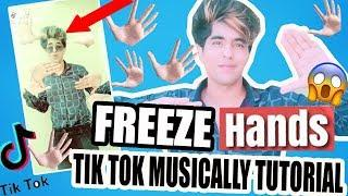 FREEZE HANDS TRANSITION MUSICALLY TIK TOK TUTORIAL IN HINDI | #FreezeHandsTransition NEW IN ANDROID