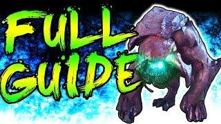 """FULL """"THE BEAST FROM BEYOND"""" EASTER EGG GUIDE & BOSS FIGHT TUTORIAL INFINITE WARFARE ZOMBIES"""