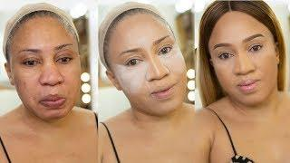 HOW TO PRIMERS|FOUNDATION|CONTOUR|EYEBROW| TALK VIDEO TUTORIAL