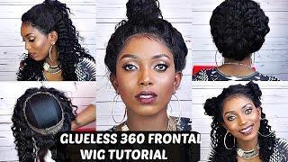 360 Lace Frontal Wig Tutorial | NO GLUE | NO TAPE | Comingbuy