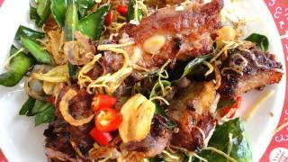 Thai Food Cooking Tutorial: Nam Gradook Moo (Fermented Pork)