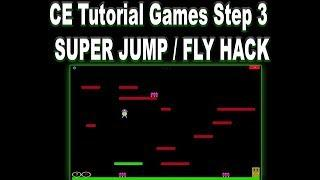 CE Tutorial Games 6.8.1 Step 3: MAKING A FLY HK / SUPER JUMP