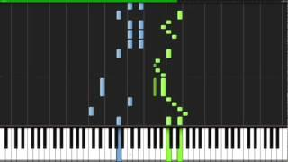 How To Play Turkish March By Mozart Synthesia - Como Tocar Marcha Turca De Mozart - Piano