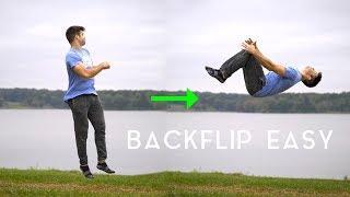 Turn A 360 Into A Backflip Easy Tutorial