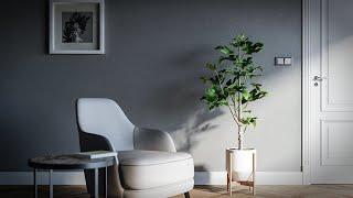 3ds Max - Corona Render (Interior Design Tutorial)
