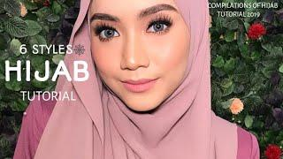 6 STYLES|| LATEST|| QUICK & FAST || HIJAB SHAWL TUTORIAL|| FOR HANGOUT|| WEDDING||