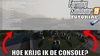 'HOE KRIJG IK DE CONSOLE?' Farming Simulator 19 Tutorial