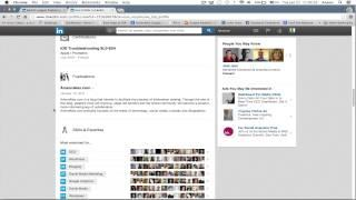 LinkedIn Tutorial 2014 - Introduction / What Is LinkedIn?