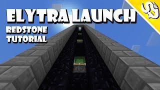 Elytra Launcher | Redstone Tutorial | Minecraft Bedrock v.1.9 (TAGALOG)