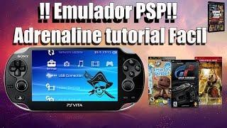 Emulador PSP Adrenaline TUTORIAL FACIL