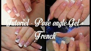 TUTORIEL - Pose Ongle Gel + French