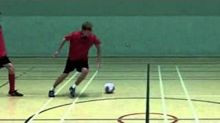 Turning Passing And Control Football Drill - Football Soccer Skills