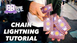 Cardistry for Beginners: Premium Tutorial - Chain Lightning