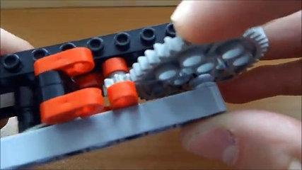 Lego Semi Auto Gun Mechanism Tutorial