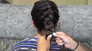 Sexy French Braid Waves No-Heat Hair Tutorial