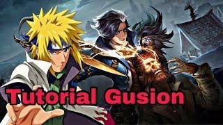 Tutorial Gusion By Soloz ( Basic Beginner )