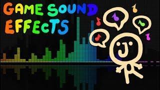 How to make SOUND EFFECTS for GAMES - EASY TUTORIAL