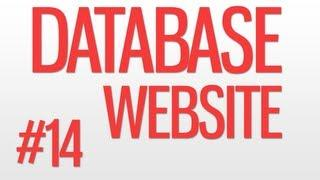 DATABASE WEBSITE #14 - Adding The Featured Boxes