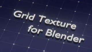 Blender - Procedural Grid Texture short tutorial