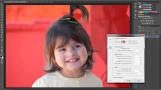 Photoshop CS6 Tutorial Italiano: Selezionare Capelli Di Ritratto E Modificare Sfondo