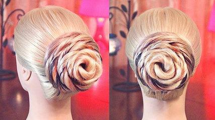 Spiral Updo Hairstyle - Wedding Hair Tutorial - Beautiful Hair Design