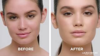 TUTORIAL: Natural, Luminous Skin by Mario Dedivanovic | Flawless Lumière Foundation | Laura Mercier