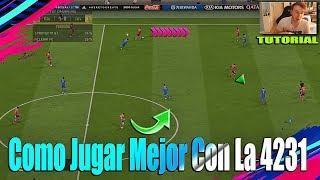 FIFA 19 Como Atacar Mejor Profesionalmente Con La Formacion 4231 TUTORIAL - Ejemplos Efectivos