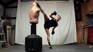 Taekwondo Spinning Hook Kick Tutorial (Kwonkicker)
