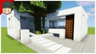 MINECRAFT 7X7 SMALL MODERN HOUSE (HOUSE TUTORIAL)