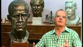 President Obama Immortalized In Bronze By Renowned Albanian Sculptor Qazim Arifi