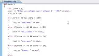 C++ Programming Tutorial For Beginners In English - Part 4 | C++ Conditional Statements