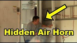 Funny Pranks : Funny Air Horn Prank 2