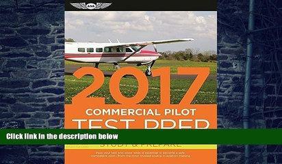 Audiobook Commercial Pilot Test Prep 2017 Book and Tutorial Software Bundle: Study   Prepare: