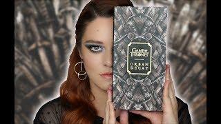 Game Of Thrones x Urban Decay - Doble Tutorial, Swatches, Reseña Español - Pamela Segura