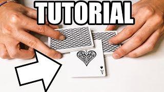 Il modo piu' ELEGANTE per far APPARIRE una CARTA! / tutorial gioco di magia con le carte
