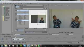 Sony Vegas Pro 11 Tutorial How To Clone Yourself (Swedish)