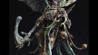 WH40K   Death Guard   Mortarion   Tutorial Preview