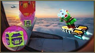 CÓMO LLEGAR A LOS COFRES MORADOS O BONUS EN LUGARES ALTOS | Tutorial | Pixel Gun 3D: Battle Royale