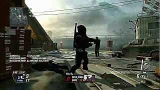 Black Guy Pwns Racist White Kid!!!!  W/ Black Ops II Fal Gameplay