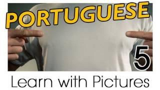 Learn Brazilian Portuguese With Pictures -- All Parts Of The Body