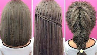 43 So Beautiful Braiding Hairstyle Tutorial | Most Satisfying Hair Long | Hairstyle Girl