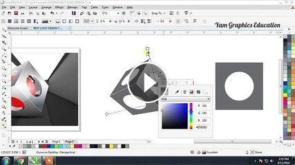 Best 3D Logo Design 6 in Coreldraw tutorial