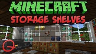 Minecraft: Storage Shelves (Quick) Tutorial