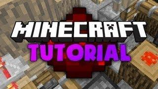 Minecraft Tutorial: How To Make A Hidden Piston Staircase/Entrance