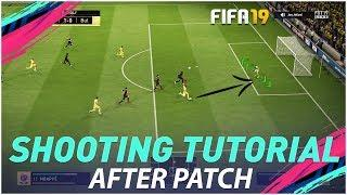 HOW PRO's SCORE GOALS AFTER PATCH - NEW FIFA 19 SHOOTING TECHNIQUE - TUTORIAL !!